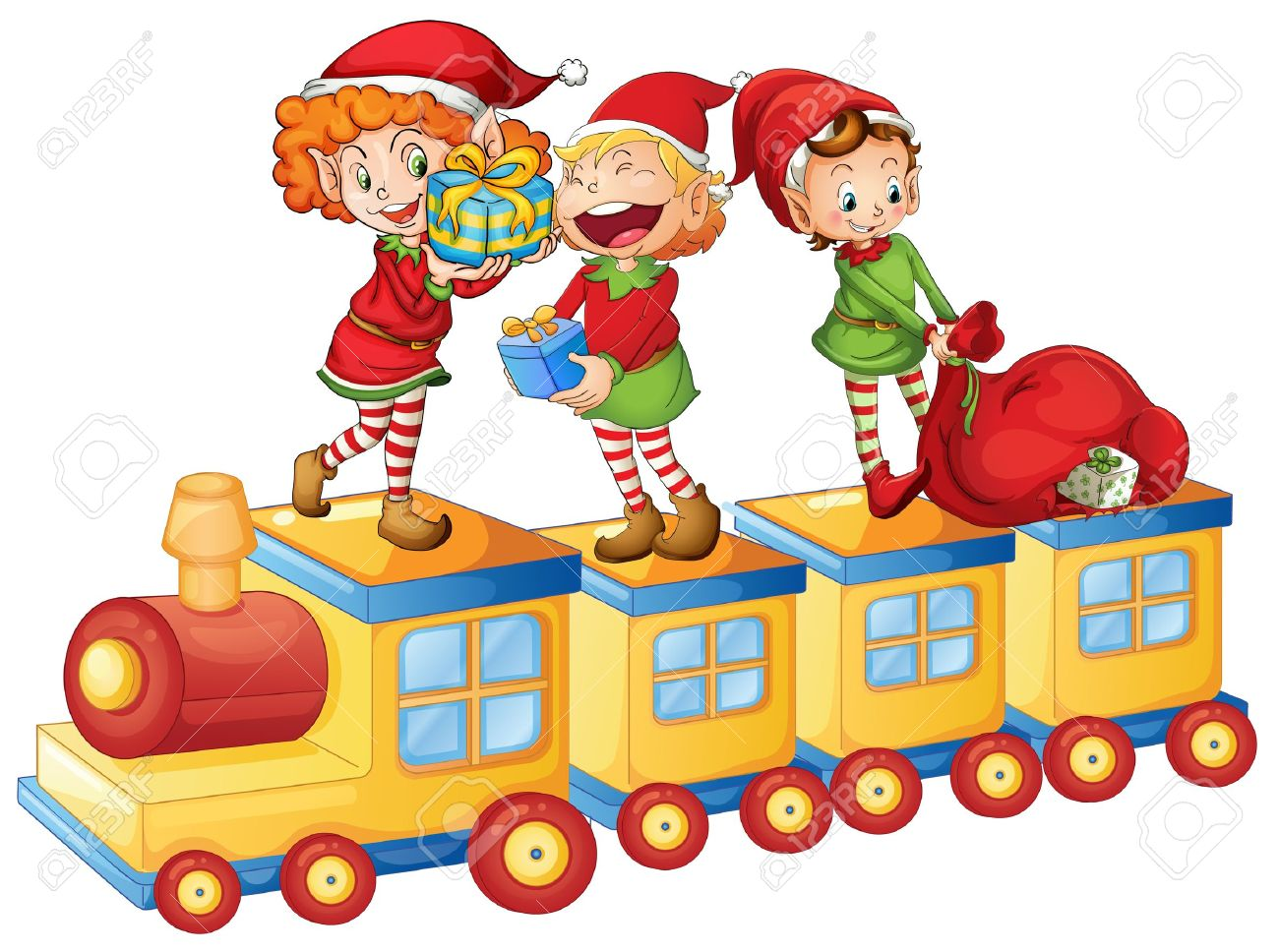 1300x968 Christmas Toy Train Clip Art About Christmas