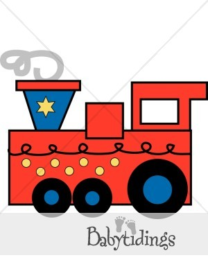 300x388 Engine Clipart Red Train