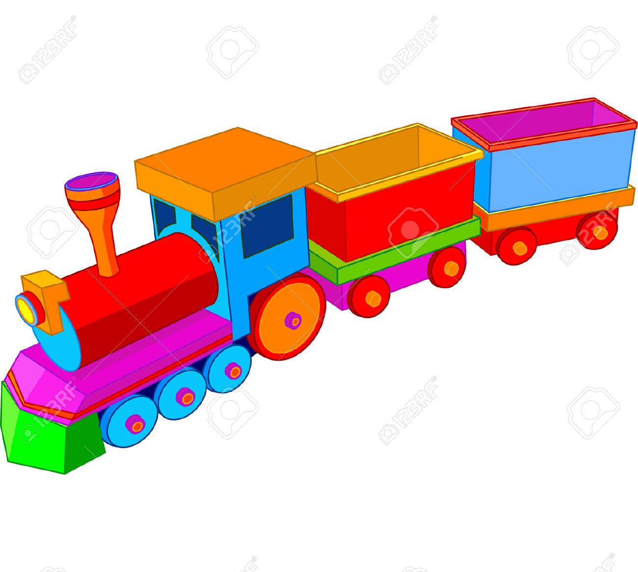 1300x1165 Miniature Train Clipart