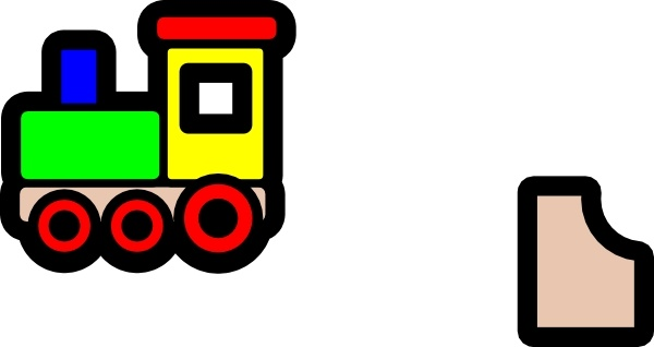 600x318 Toy Train Icon Clip Art Free Vector In Open Office Drawing Svg