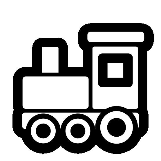 555x555 Toy Train