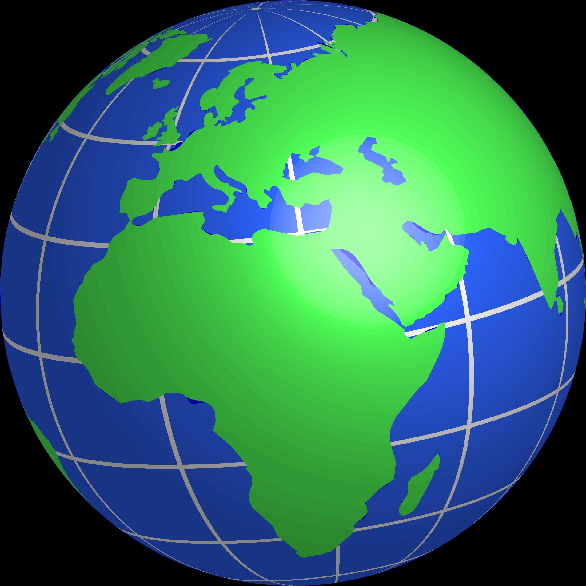 1905x1905 Globe Clipart Europe