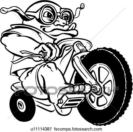 450x447 Clip Art of big, wheel, toy, illustration, lineart u11114387