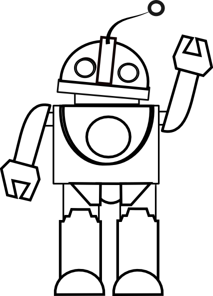 426x592 Monochrome clipart toy