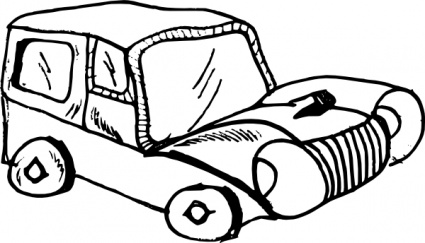 425x243 Toy Car Clipart Black And White Clipart Panda