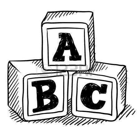 450x450 Toy clipart alphabet block