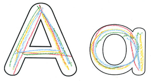 526x282 Alphabet Bubble Letters
