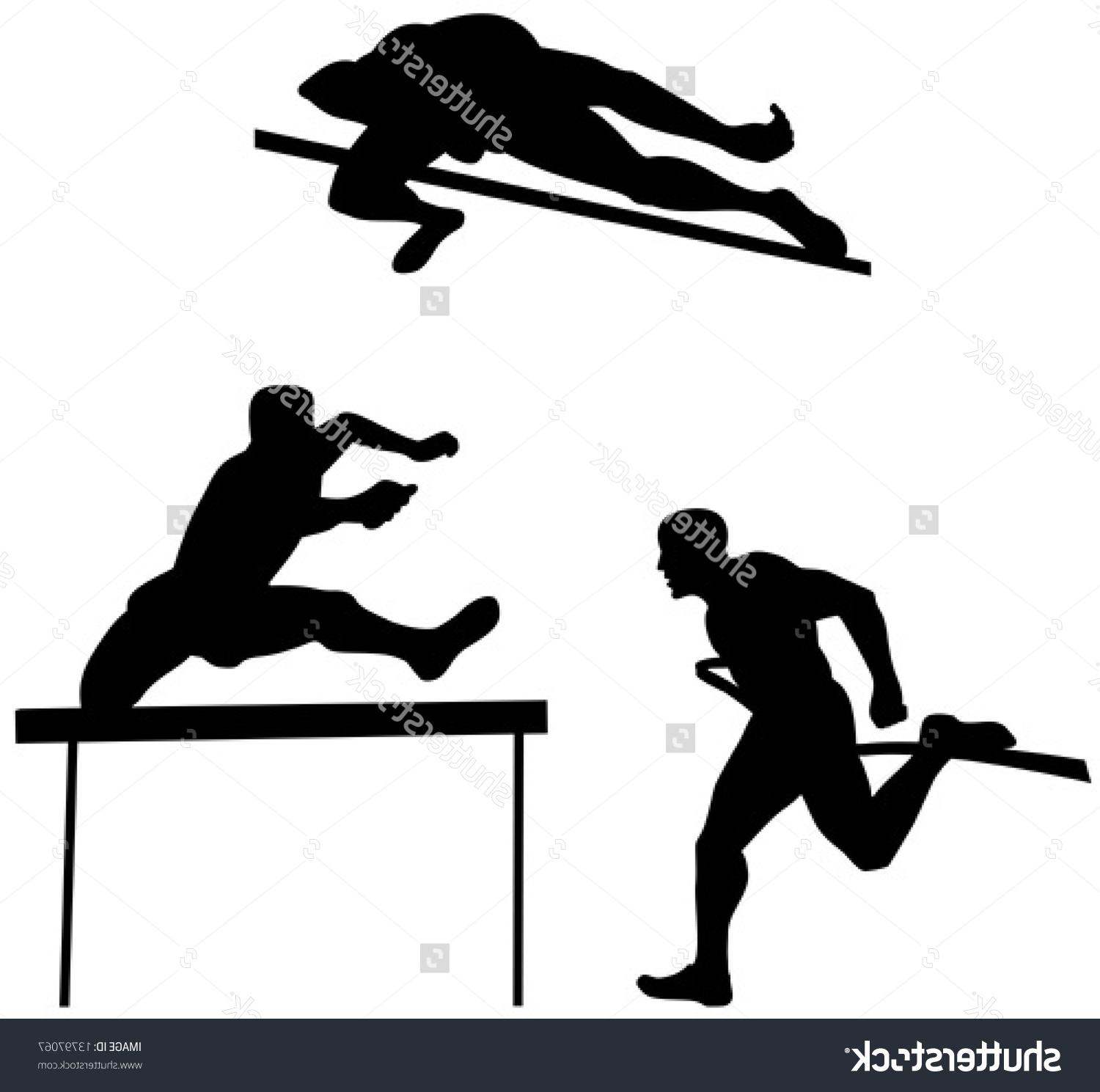 1500x1489 Best Free Track And Field Silhouette Clip Art Design Free Vector