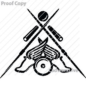 300x300 Clipart Field Track