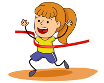 210x168 Girl Clipart Track And Field