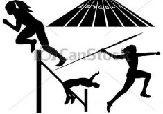 235x165 Unusual Idea Track And Field Clipart Vector Clip Art Of Athletics