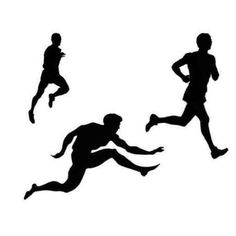 236x236 Track And Field Silhouette Clipart Clipartfest