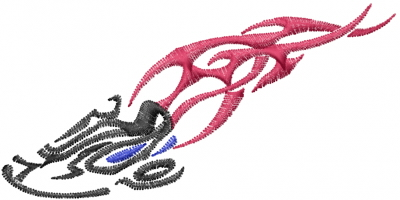 400x200 Sports Embroidery Design Track And Field Logo From Machine
