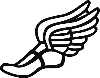 330x260 Track Clip Art Track Shoe With Wings Free