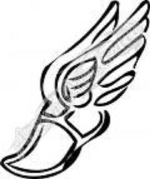 300x357 Winged Foot Track Shoe Tattoo Ideas Tattoo