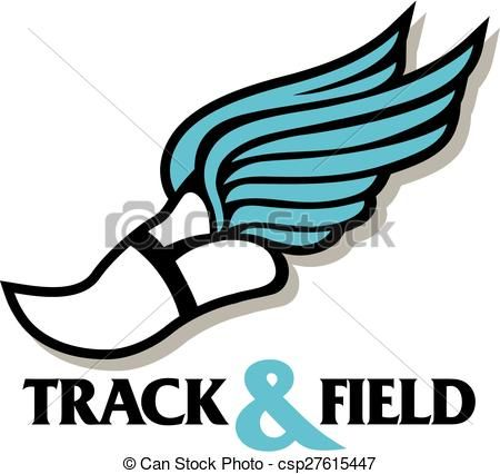 450x426 Best Of Track And Field Clip Art Eps Vector Of Track Foot Track