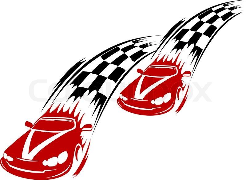 800x585 Race Track Clip Art Chadholtz