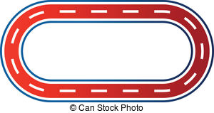 300x159 Race Track Clipart
