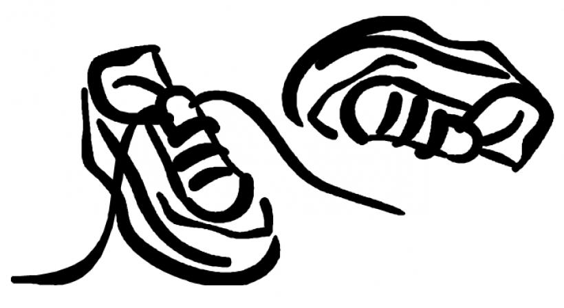 820x448 Track Shoe Shoe Clip Art Clipart Clipartcow Image 33611top 20 Png