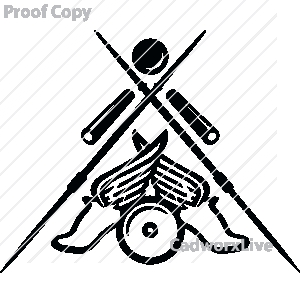 Track Field Clipart