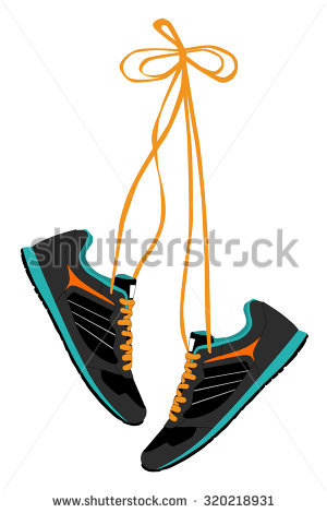 300x470 Gym Shoes Clipart Free Running