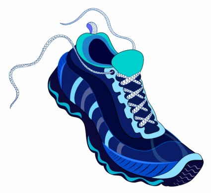 425x389 Gym Shoes Clipart Free Running