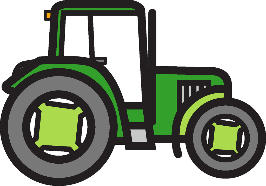 1024x715 Tractor Clipart Fame