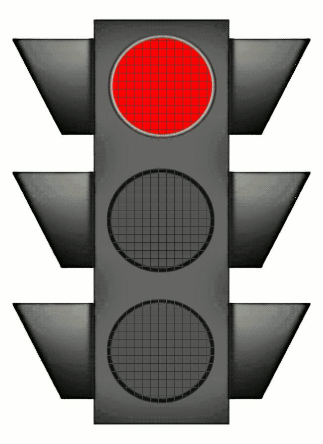 Traffic Light Cartoon Clipart