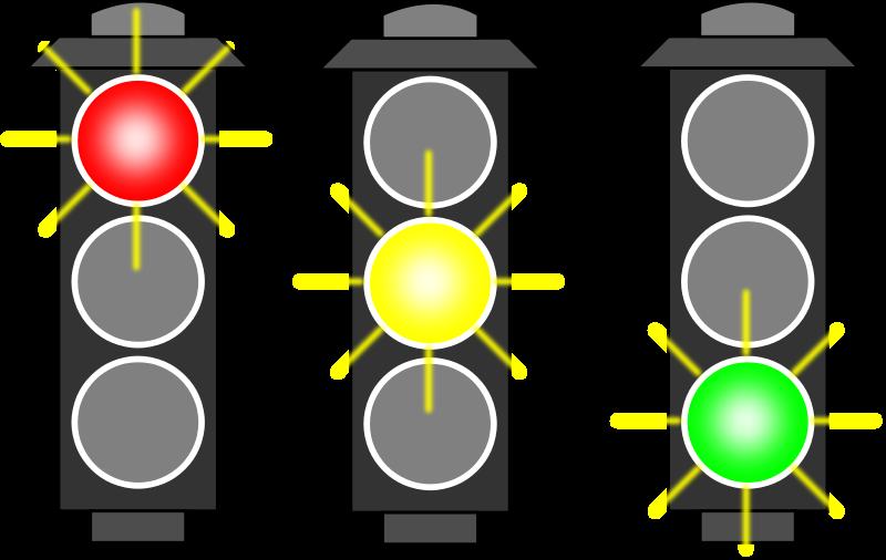 800x506 Traffic Light Clipart