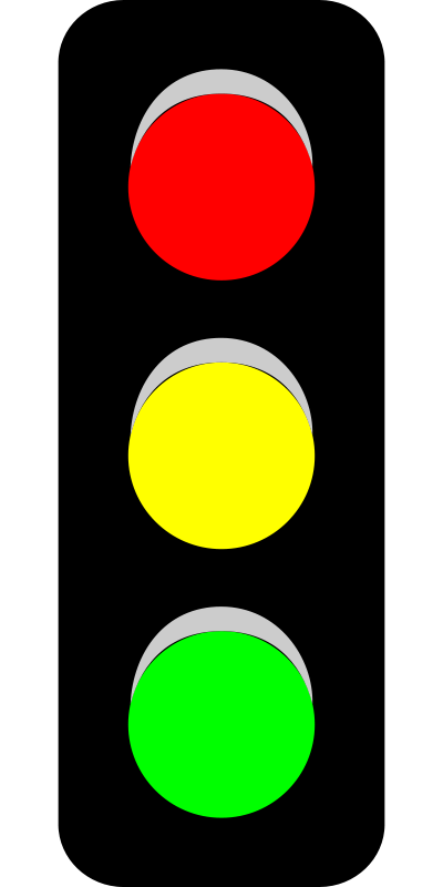 400x800 Free Clipart Traffic Light (V) Thebyteman