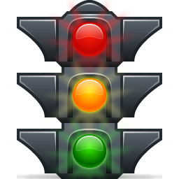 256x256 Traffic Lights Icon