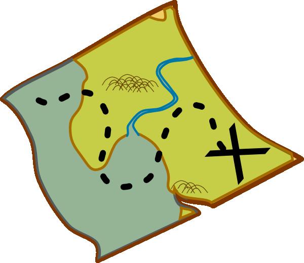600x520 Hiking Clipart Trail Map