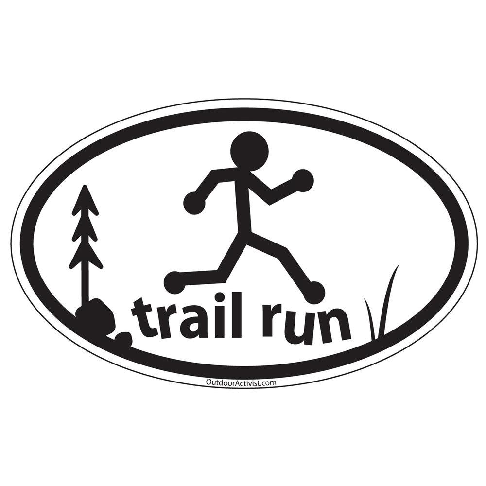 1000x1000 Trail Running Clipart