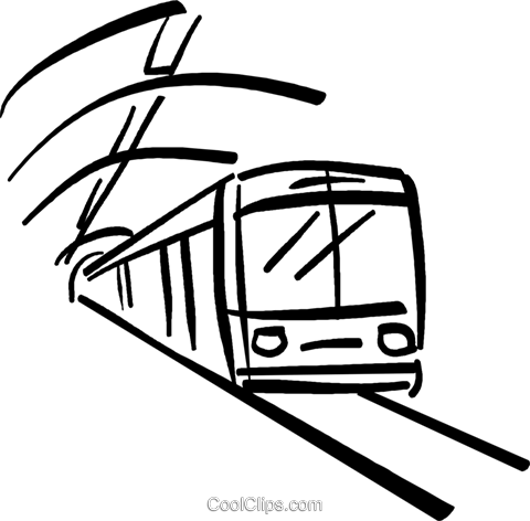 480x472 Subway Clipart Black And White