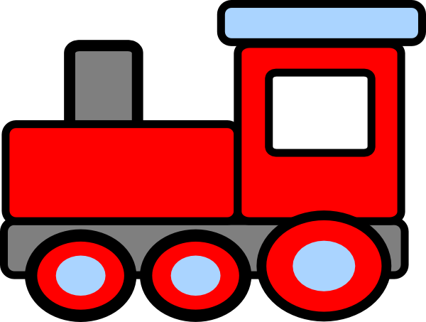 600x453 Cohens Birthday Train Clip Art