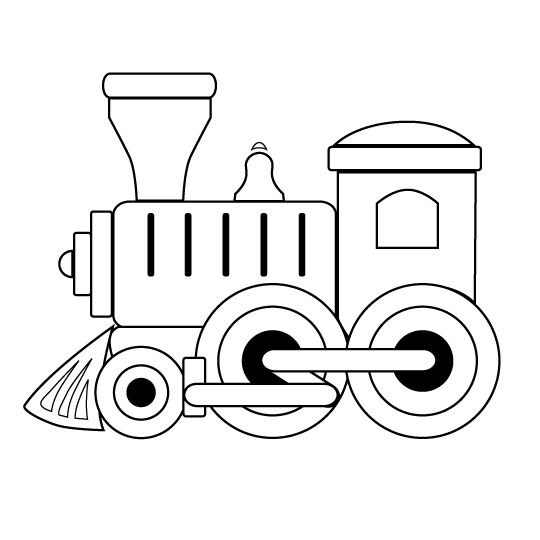 540x540 Engine Clipart Outline