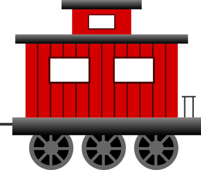 640x543 Engine Clipart Train Caboose