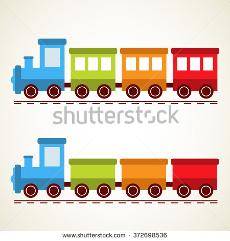 450x470 Railroad Clipart Train Set