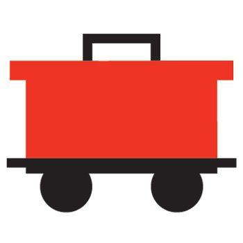 350x350 Train Caboose Clip Ar Clip Art Library