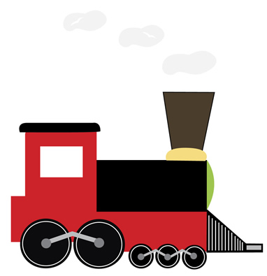 382x395 Train Caboose Clipart Free Clipart Images