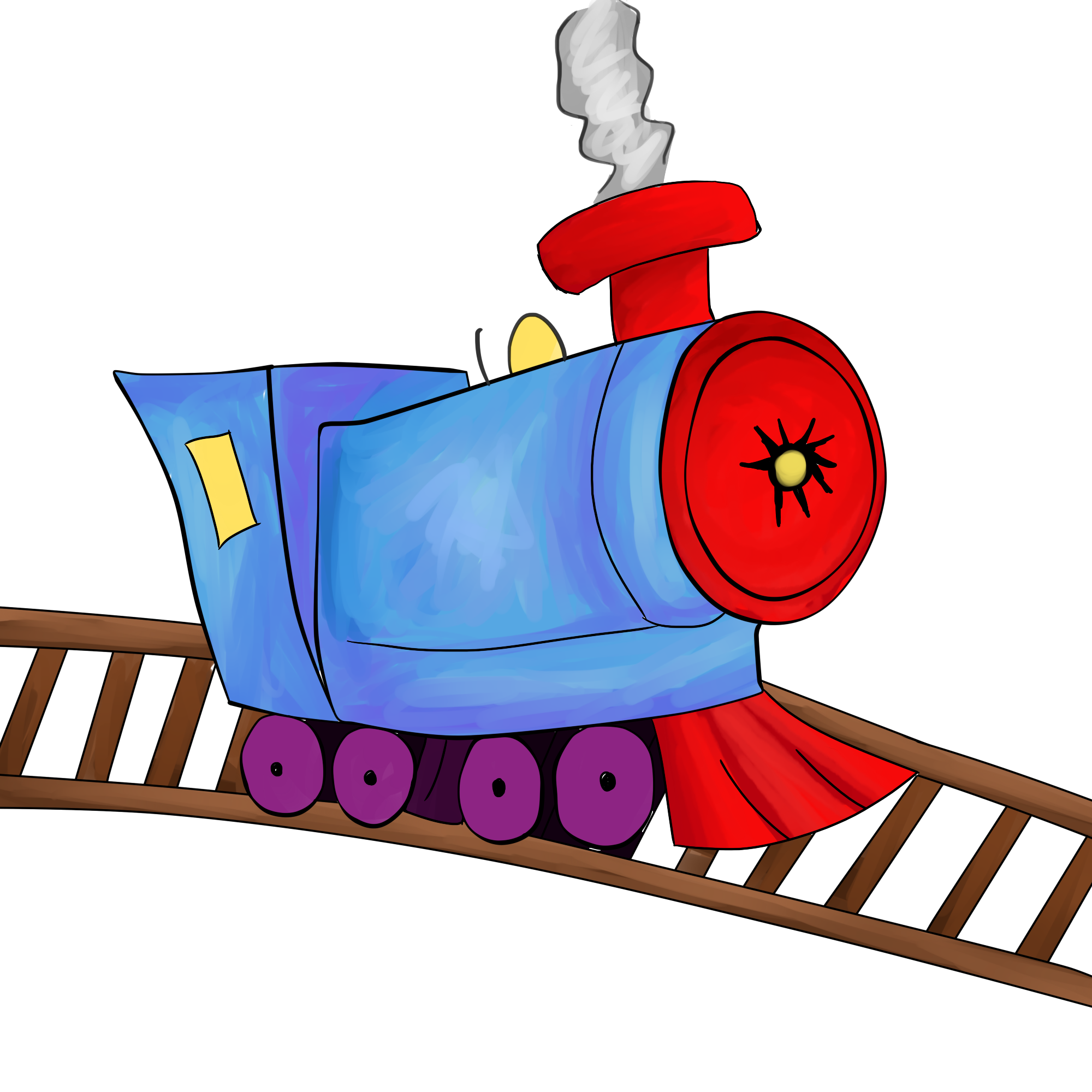 2000x2000 Train Free To Use Clip Art 5