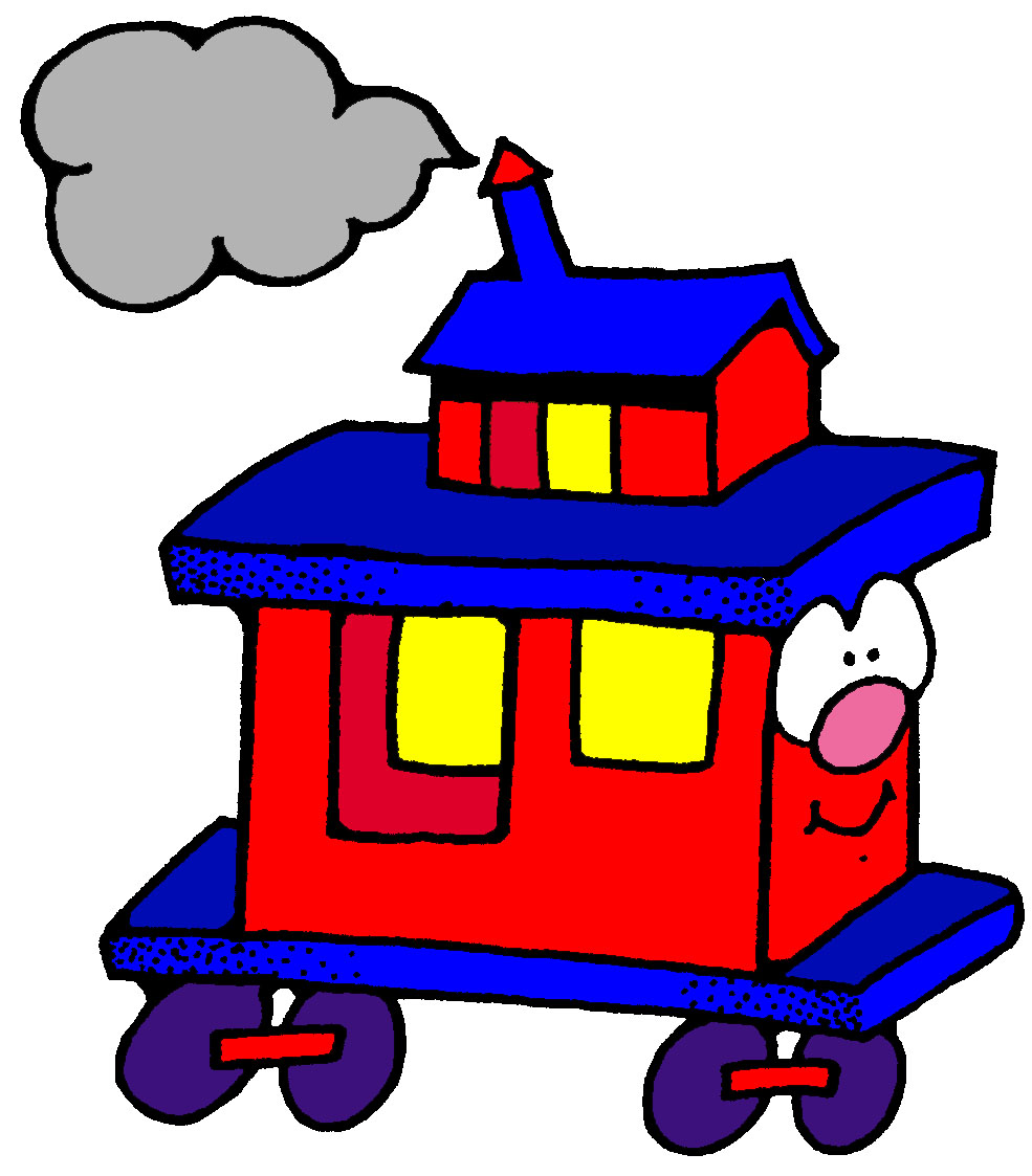 985x1123 Caboose Clipart