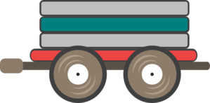 299x147 Loco Train Car Clip Art