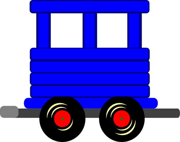600x472 Caboose Car Black And White Train Car Clipart Clipartfest