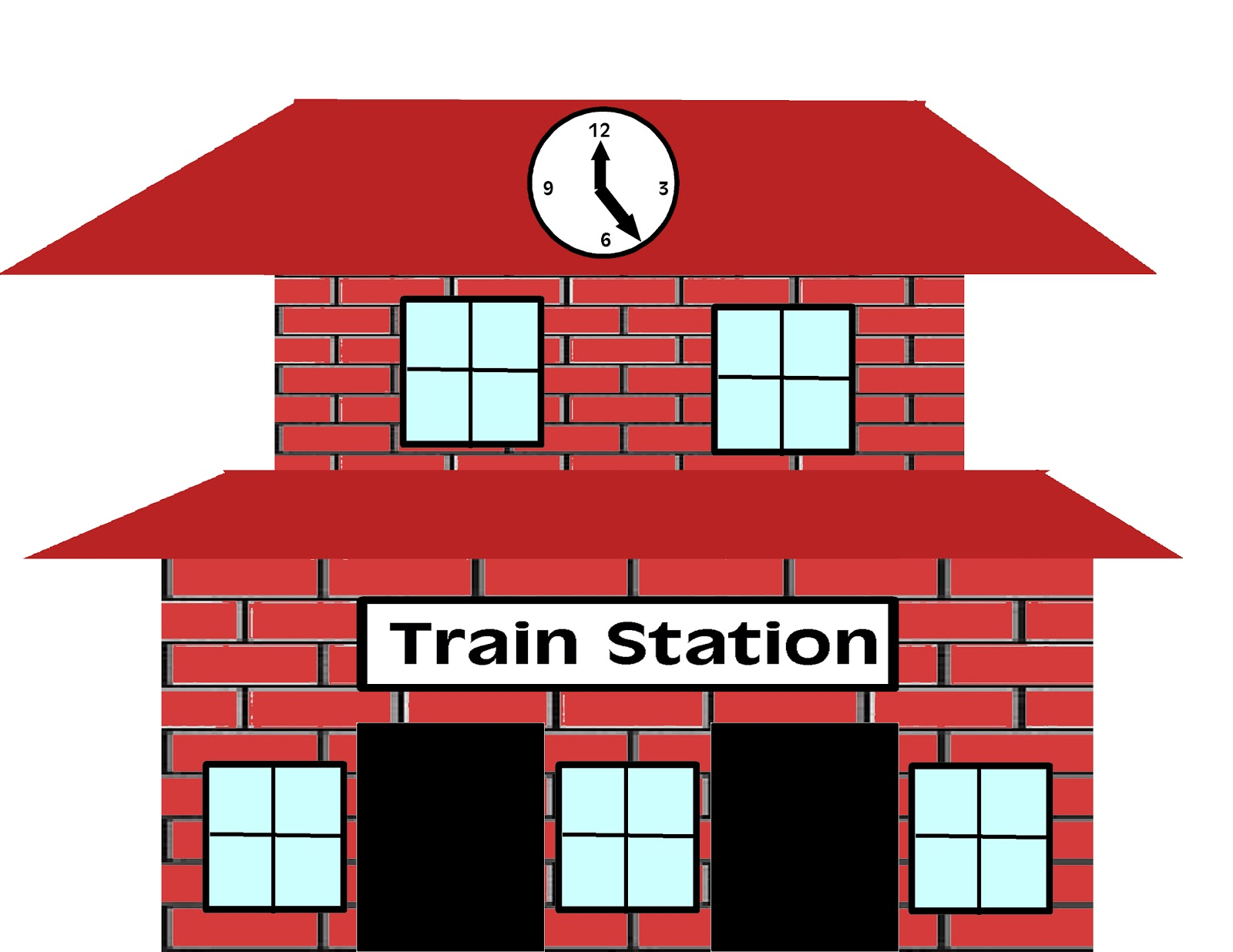 Train Cars Clipart