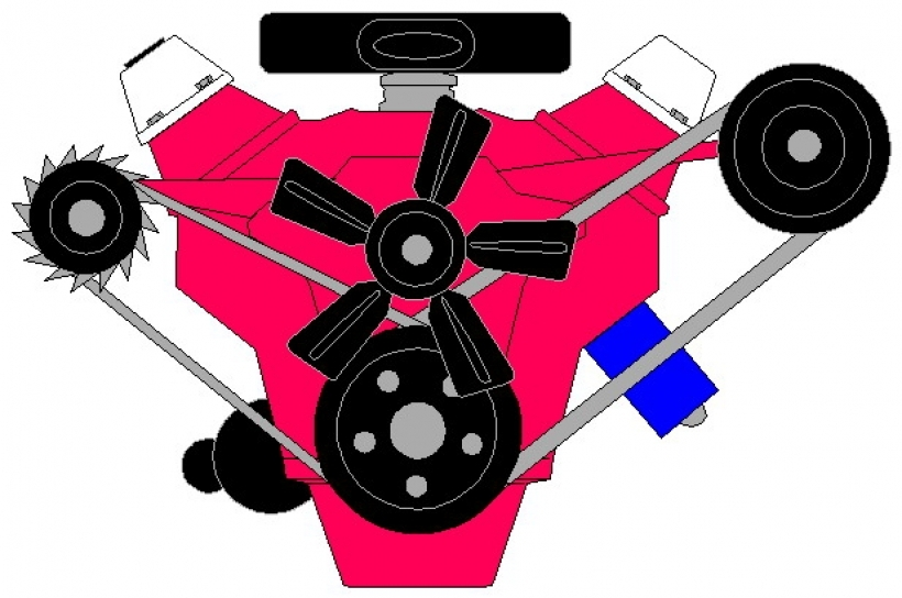 820x544 Engine Clipart