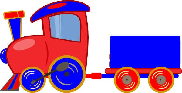 600x309 Loco Train Clip Art