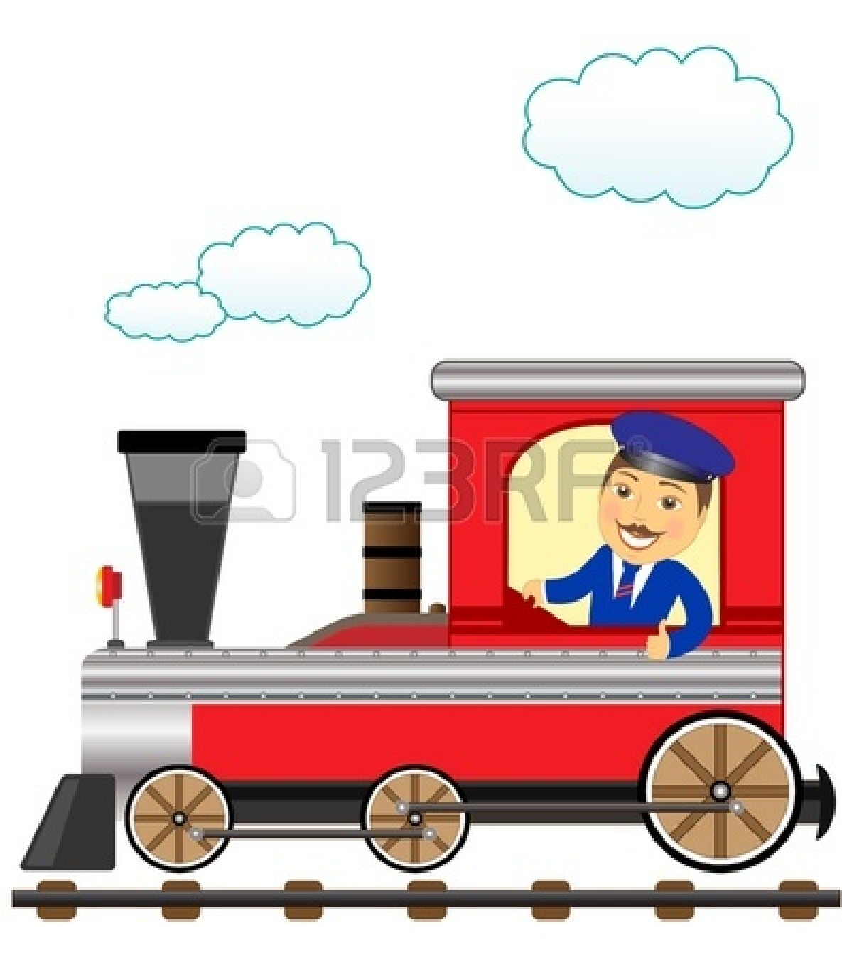 1185x1350 Train Conductor Free Clipart