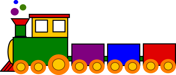 600x256 Choo Choo Train Clipart