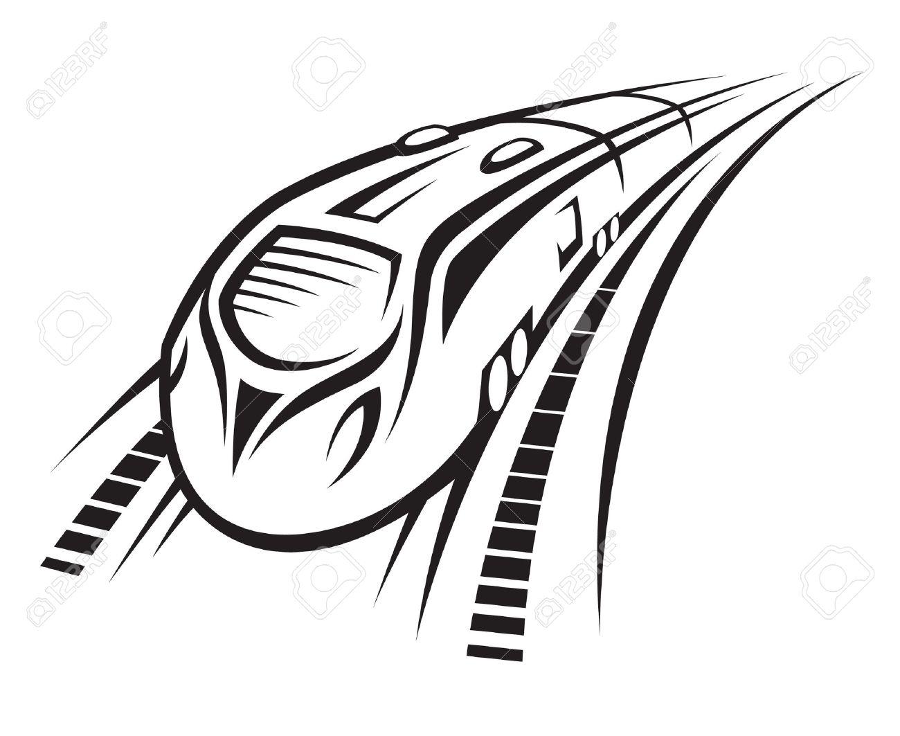 1300x1063 Subway Clipart Modern Train